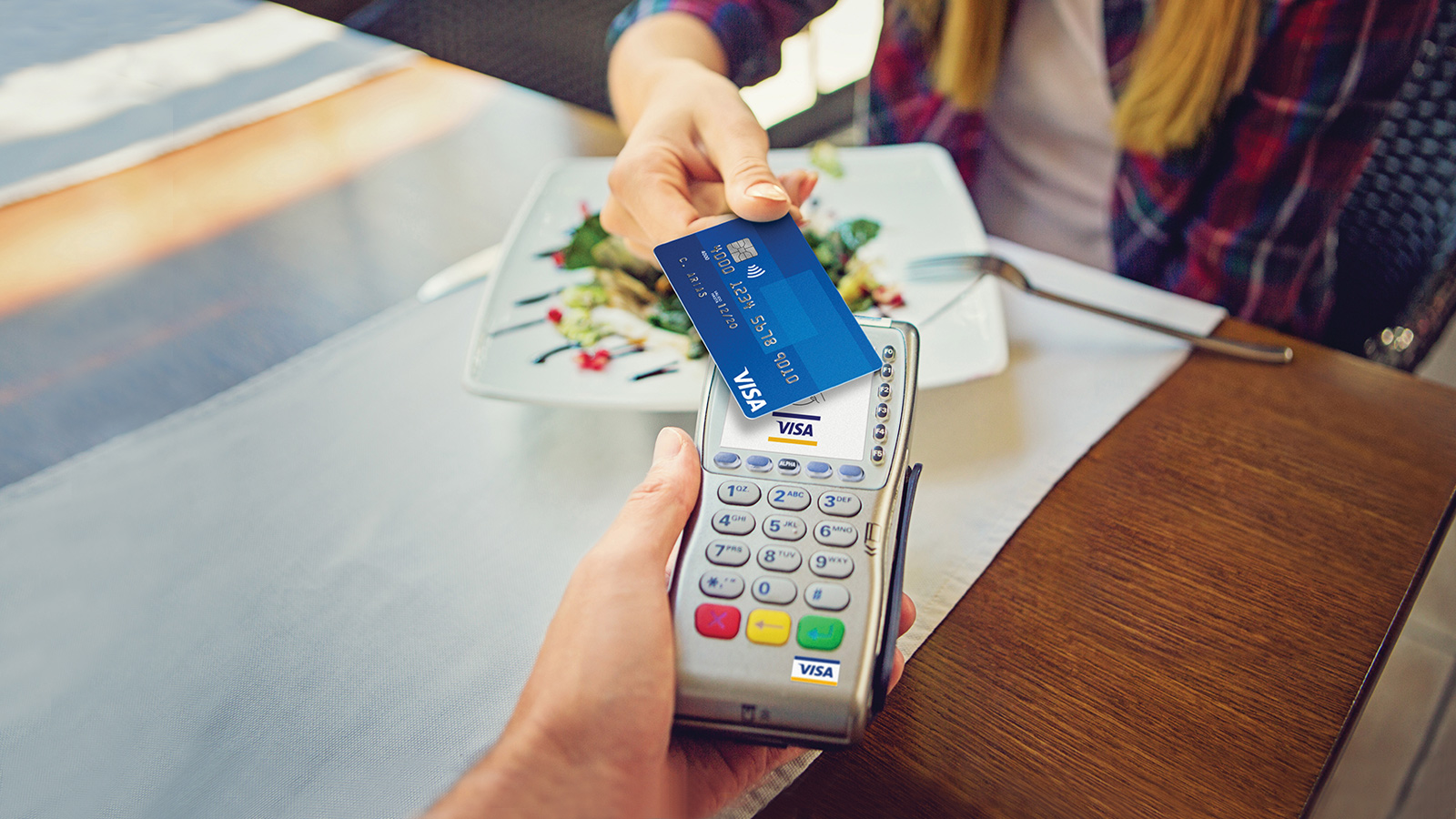 Contactless Payments with Visa